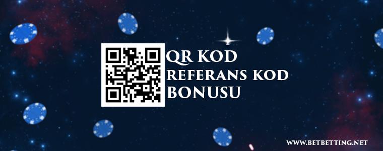QR Kod Referans Kod Bonusu