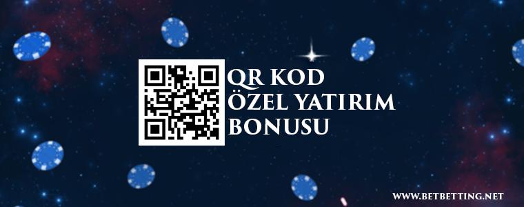 QR Kod Özel Yatırım Bonusu
